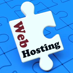 Web Hosting Showing Website Domain, URL, Webhost